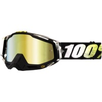100% RaceCraft Goggles - T2/Mirror Gold Lens