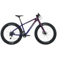 Salsa Beargrease Carbon X7 Complete Bike 2016 - Purple/Blue Fade