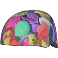 C-Preme Krash Sublimation Youth Helmet - Candy Hearts