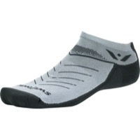 Swiftwick Vibe Zero Socks - Pewter/Gray