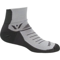 Swiftwick Vibe Two Socks - Pewter/Gray
