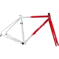 All-City Macho Man Disc Frame 2016 - Red/White Fade