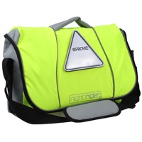 PROVIS Nightrider Messenger/Courier Bag - Hi-Vis Yellow/Reflective