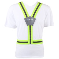 PROVIS High Visibility Flexi-Vis Belt - Hi-Vis Yellow/Reflective