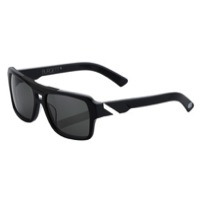 100% Burgett Sunglasses - Matte Black/White