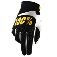 100% Airmatic Gloves - Black/Yellow