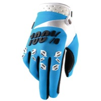 100% Airmatic Gloves - Blue