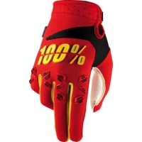 100% Airmatic Gloves 2017 - Red