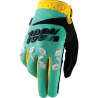 100% Airmatic Gloves - Mint