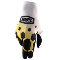 100% Celium Gloves 2017 - Legacy Yellow