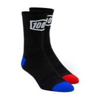 100% Terrain Socks - Black