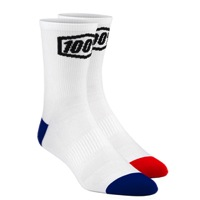 100% Terrain Socks - White