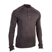 Showers Pass Men's Henley Sport Long Sleeve Shirt