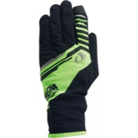 Pearl Izumi P.R.O. Barrier WxB Gloves 2020 - Black/Yellow