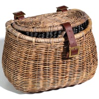 Nantucket Madaket Creel Basket w/ Lid