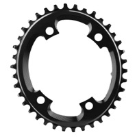AbsoluteBlack Cyclocross Asym Oval Chainring - 4 x 110mm Asym BCD