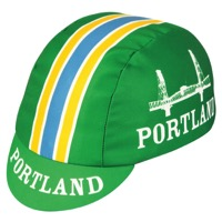 Pace Portland Cycling Cap - Green/White