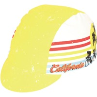 Pace Cali Dreamin Cycling Cap - Yellow