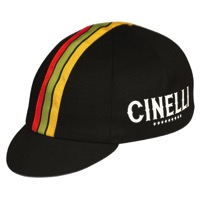 Pace Cinelli Stars Cycling Cap - Black