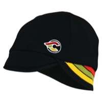 Pace Cinelli Reversible Merino Wool Cycling Cap - Cinelli/Black