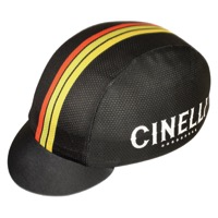 Pace Cinelli Stars Coolmax Cycling Cap - Black