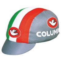 Pace Columbus Italia Coolmax Cycling Cap - Grey