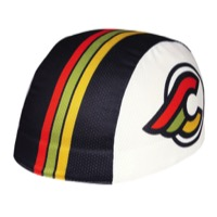 Pace Cinelli Winged Coolmax Helmet Liner - White