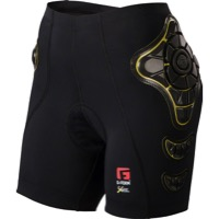 G-Form Pro-B Women's Compression Shorts - Black/Yellow