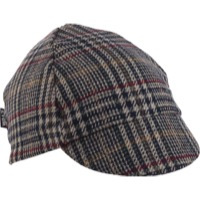 Walz Wool 4-Panel Cycling Cap - Plaid