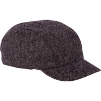 Walz Wool Urban Collection Cycling Cap - Black Tweed