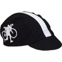 Walz HTFU Cotton Cycling Cap - Black/White
