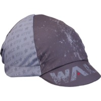 Walz HTFU Moisture Wicking Four-Panel Cycling Cap - Red/White/Blue