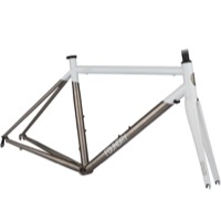 Foundry Chilkoot Road Frameset 2016 - Brushed White