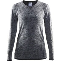 Craft Women's Active Comfort Long Sleeve Baselayer - Black