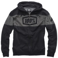 100% Syndicate Zip Hoody - Black Heather
