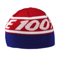 100% Rally Beanie - Red