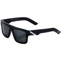 100% Bowen Sunglasses - Matte Black/White