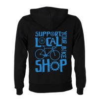 Mechanical Threads Shop Local Hoodie - Black