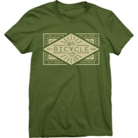 Twin Six Women's Bicycle T-Shirt - Olive Green