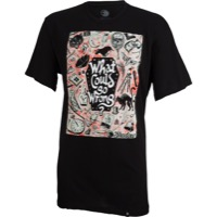 The Shadow Conspiracy 'What Could Go Wrong' T-Shir - Black
