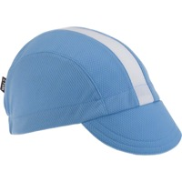 Walz Moisture Wicking 3-panel Cycling Cap - Columbia Blue/White Racing Stripe