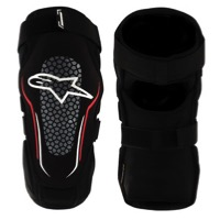 Alpinestars Alps 2 Knee Guards - Black/White/Red