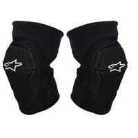 Alpinestars Fierce Knee Guards - Black/White