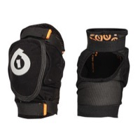 SixSixOne Rage Soft Elbow Guards - Black