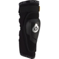 SixSixOne Rage Hard Knee Guards - Black