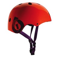 SixSixOne Dirt Lid Plus Helmet - Orange