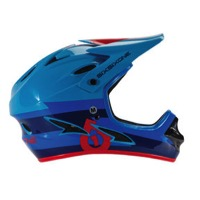 SixSixOne Comp Helmet - Blue/Red