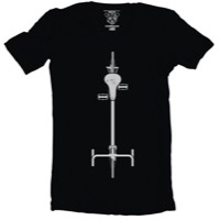 Clockwork Gears Birdseye T-Shirt - Black