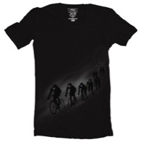 Clockwork Gears Night Rider T-Shirt - Black