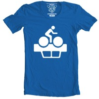 Clockwork Gears Pollution T-Shirt - Blue